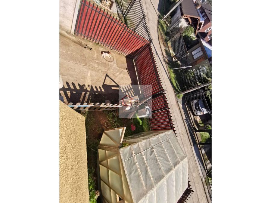 casa en venta sector santa elena en valdivia