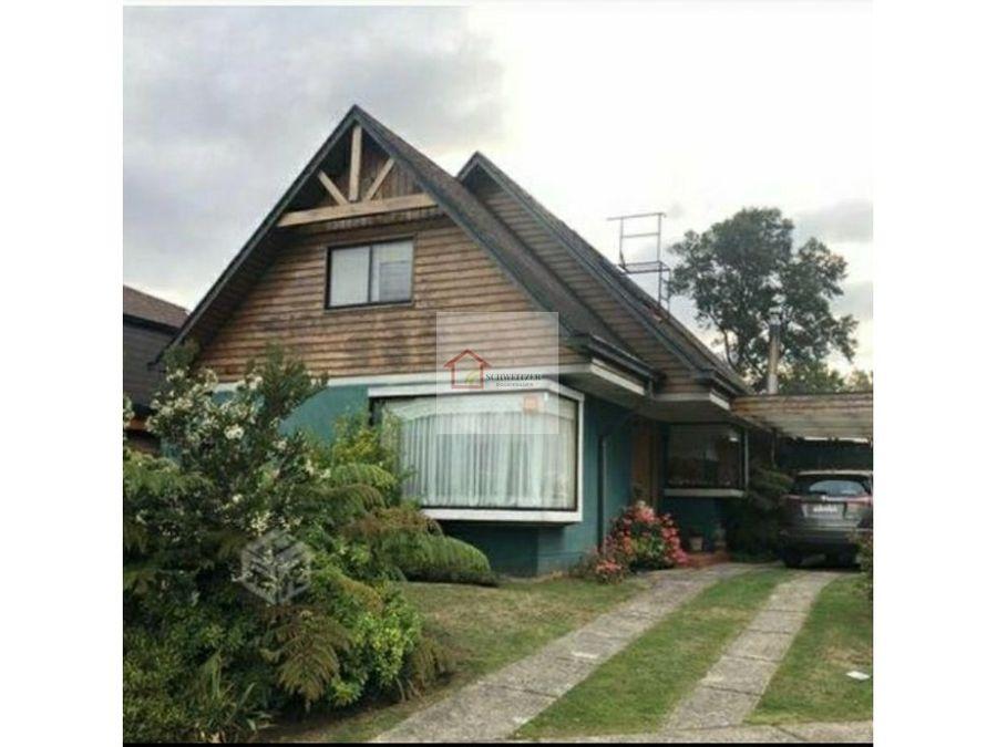 casa en venta sector el bosque valdivia
