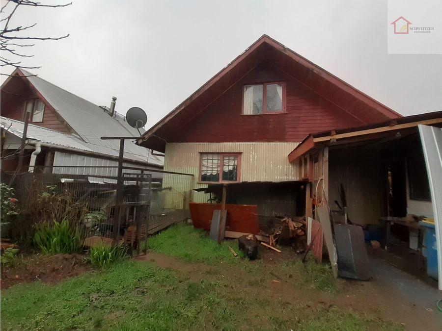 amplia y acogedora casa en valdivia