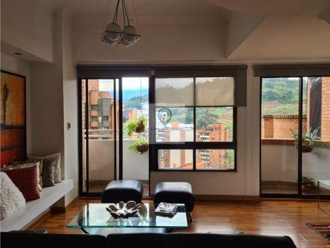alquiler pent house duplex amoblado con terrazas en pinares pereira