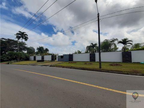 venta lote en condominio sector cerritos