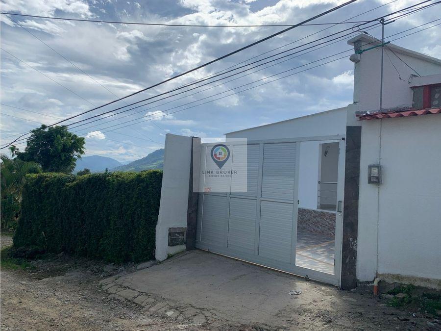 se vende casa campestre sector via armenia en pereira