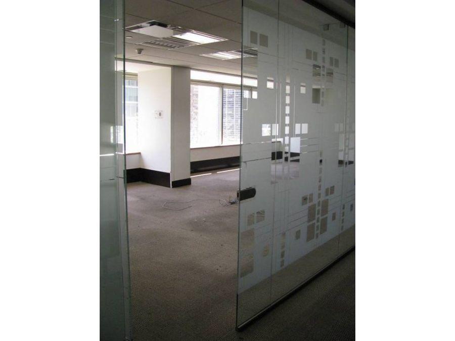 oficina arriendo 1053 mt2 metro el golf
