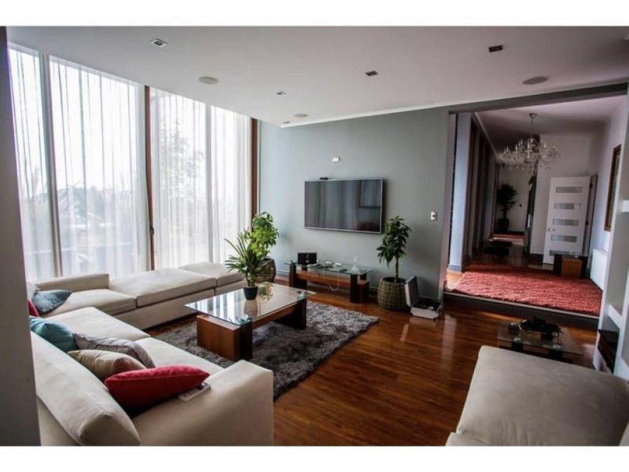 venta casa 5d 4b 4e hacienda chacabuco