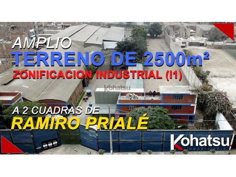 tvk007 terreno ideal para comercio o industria