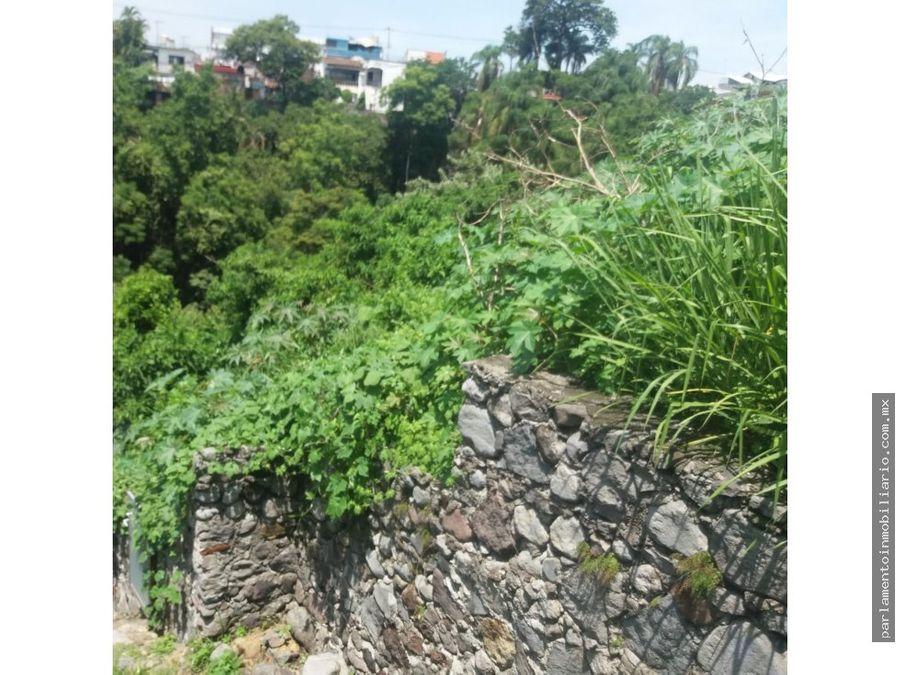 se vende terreno en jardines de acapantzingo