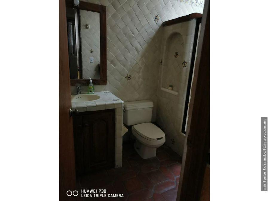 casa en renta amueblada en fraccionamiento burgos cuernavaca