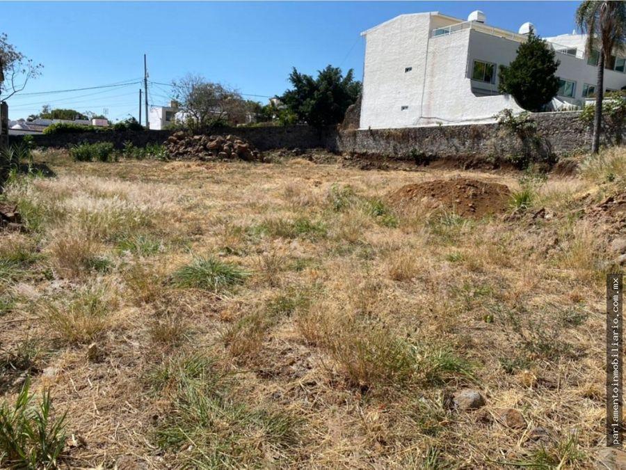 terreno urbano en vista hermosa cuernavaca morelos