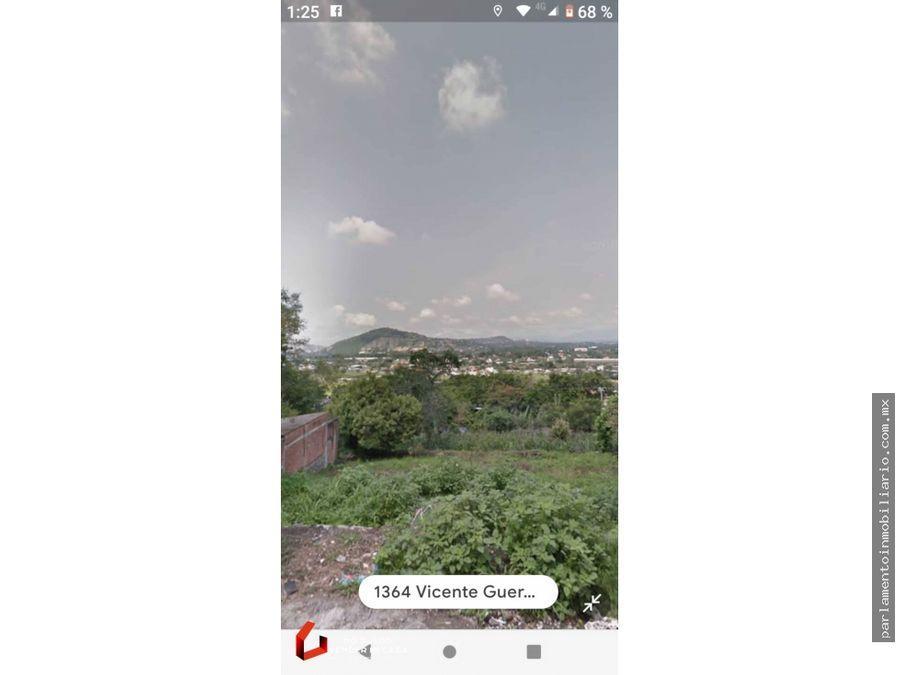 hermoso terreno panoramico a un costado de tamoanchan