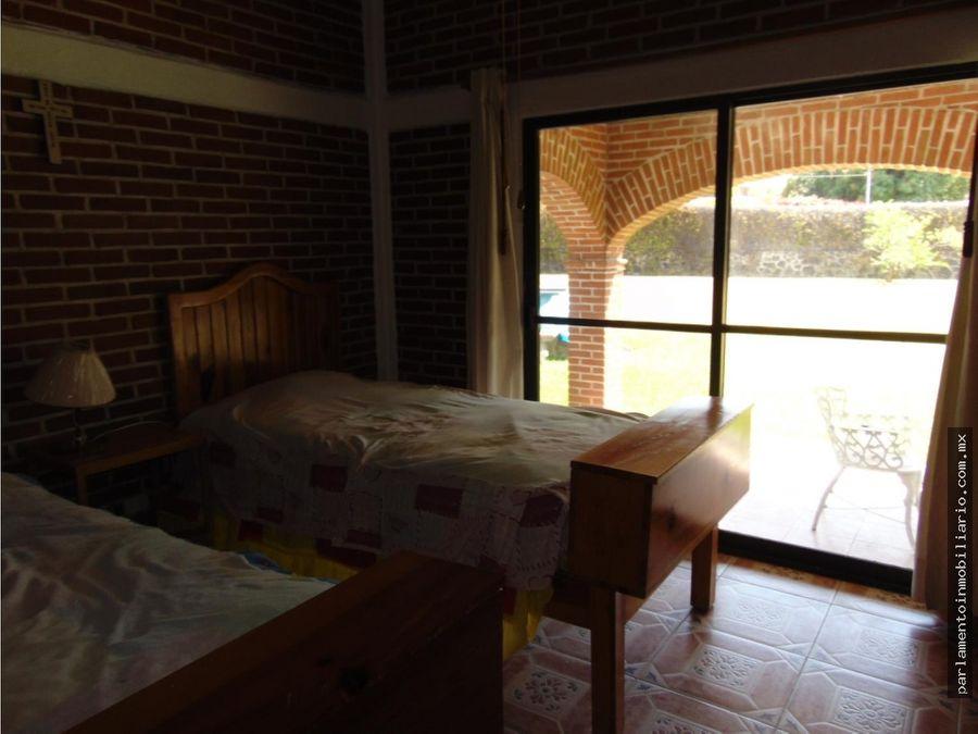 casa sola con alberca en oaxtepec 1092 metros de terreno