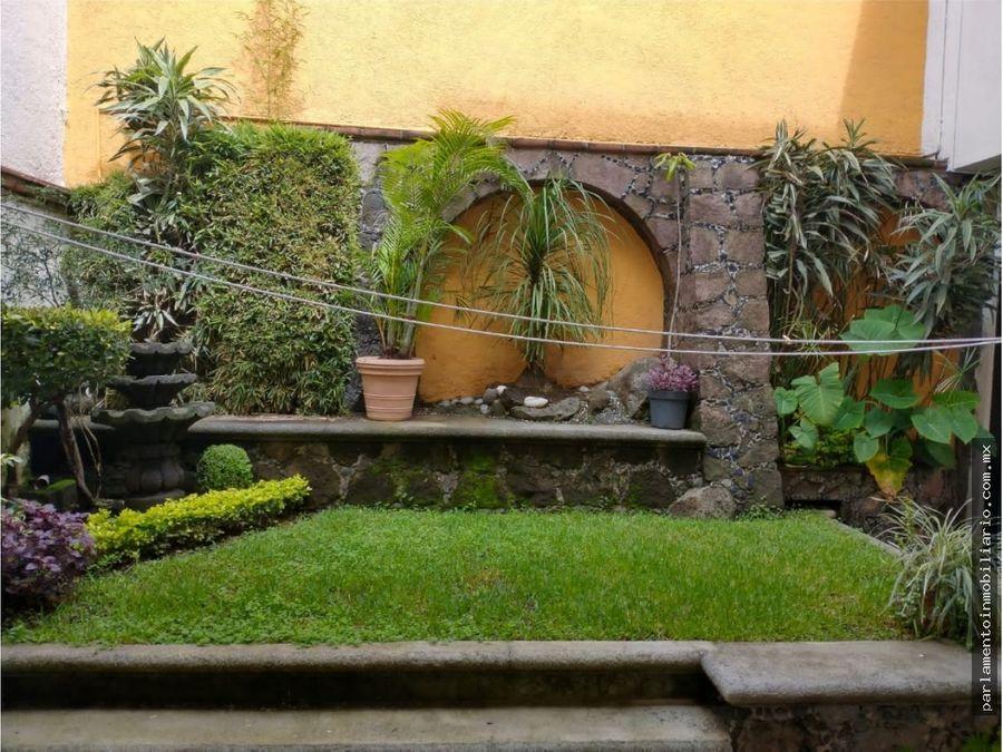 casa en fraccionamiento en vista hermosa cuernavaca morelos