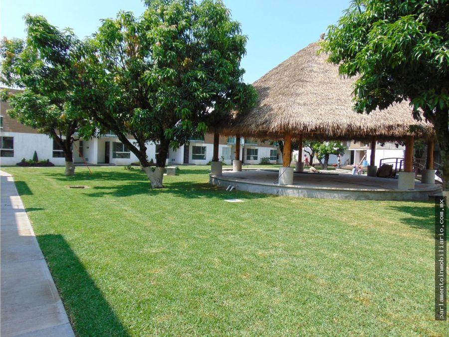 casa con alberca en yautepec