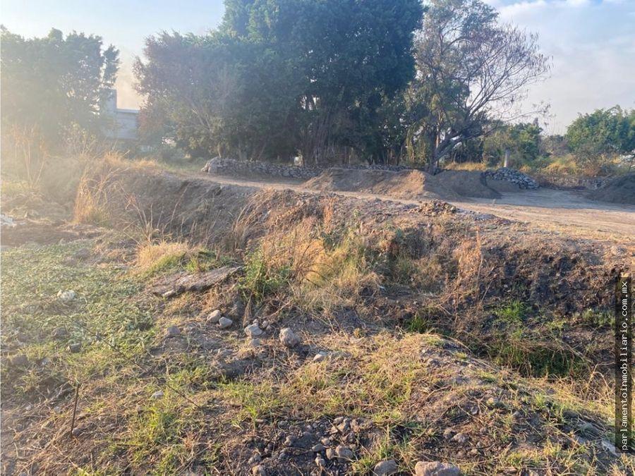 terreno en cuautla morelos con buena ubicacion