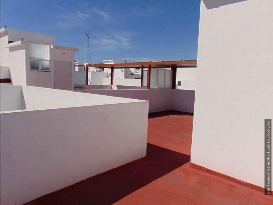 tu casa con roof garden en tequesquitego morelos
