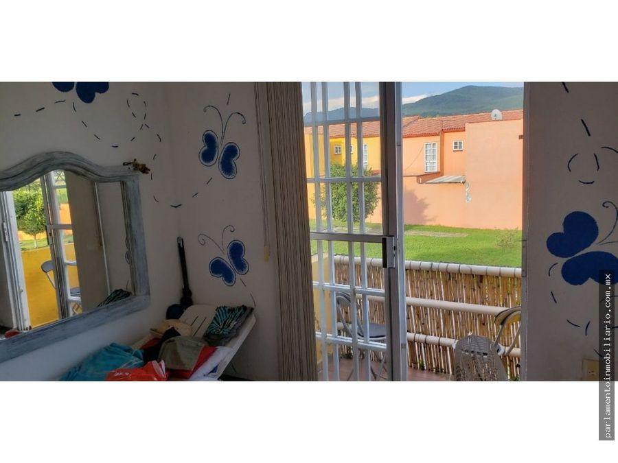 casa en condominio en las garzas emiliano zapata