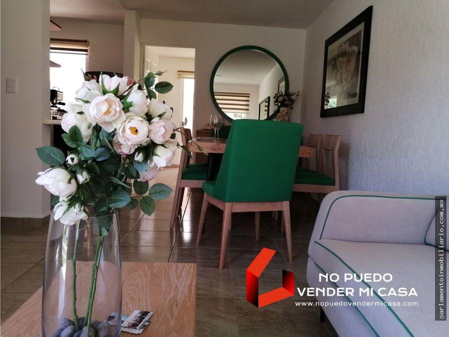 casa de 3 recamaras roof garden y alberca en condominio sur cernavaca