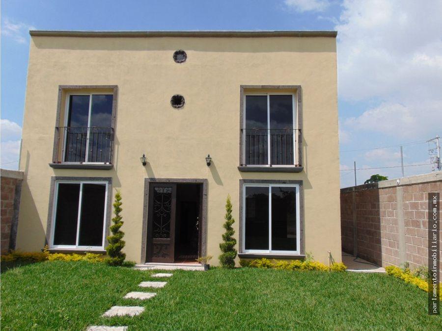 casa en yecapixtla con roof garden