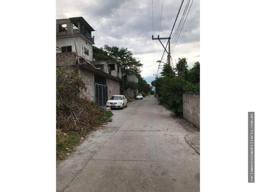 terreno urbano en la cruz xochitepec morelos