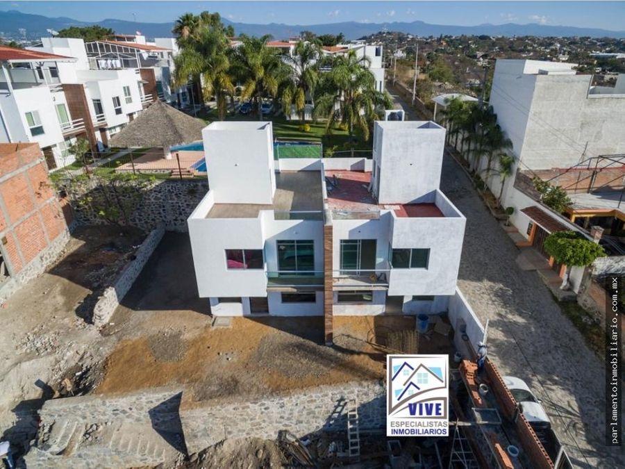 casa en venta con alberca privada de 8 casas