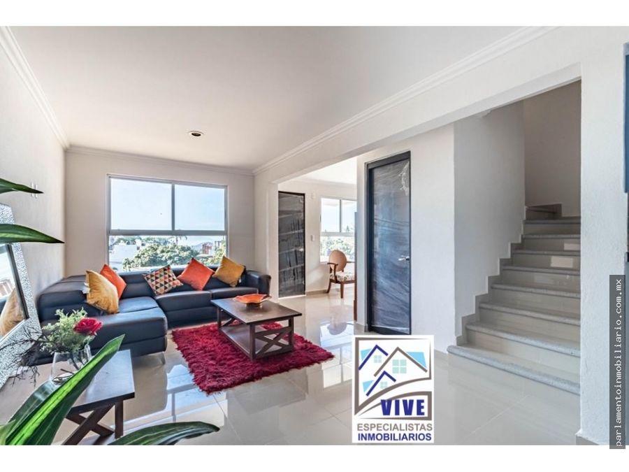 casa en venta con alberca exclusiva privada
