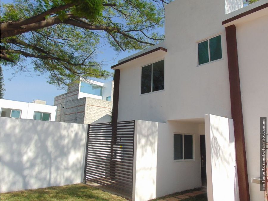 casas en venta en cuautla privada manantiales
