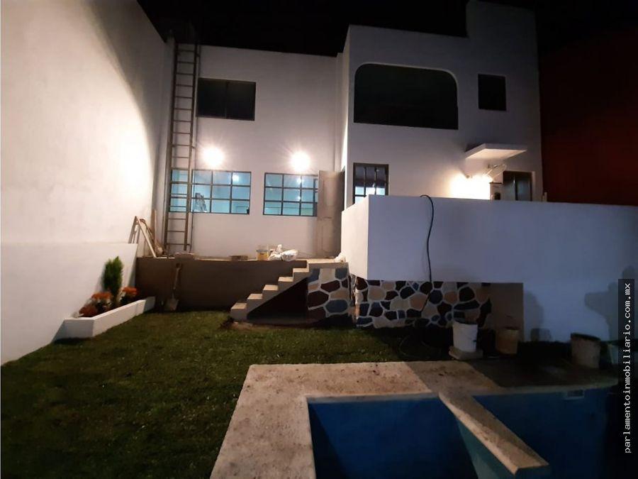 se vende casa sola recien re modelada al norte de cuernavaca