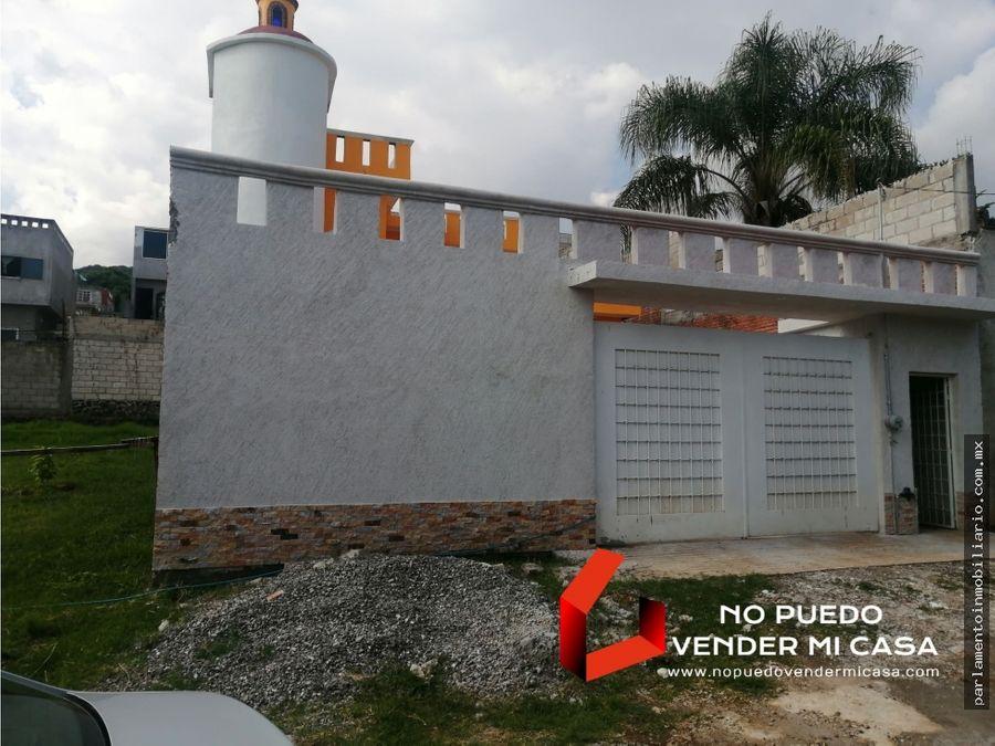casa nueva 3 recamaras norte de cuernavaca ahuatepec