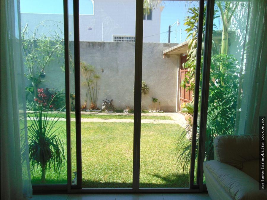 casa sola en venta con jardin en civac morelos no aplica creditos