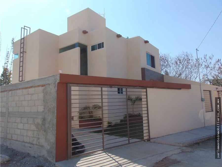 casa sola en venta con alberca oaxtepec
