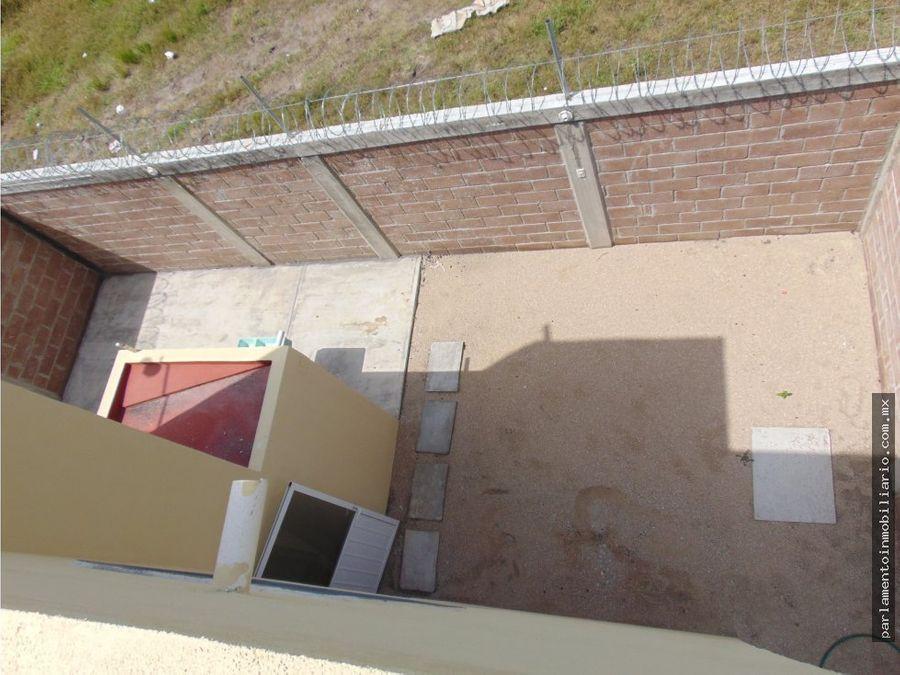 casa con roof garden en yecapixtla