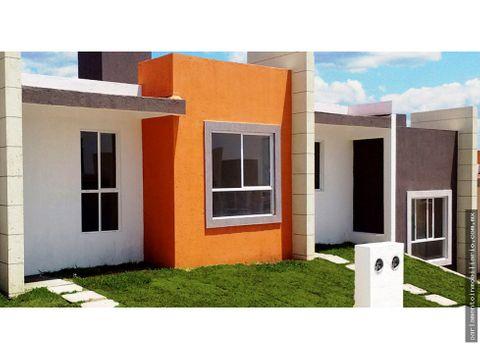 casa nueva un nivel en venta con alberca aceptamos creditos