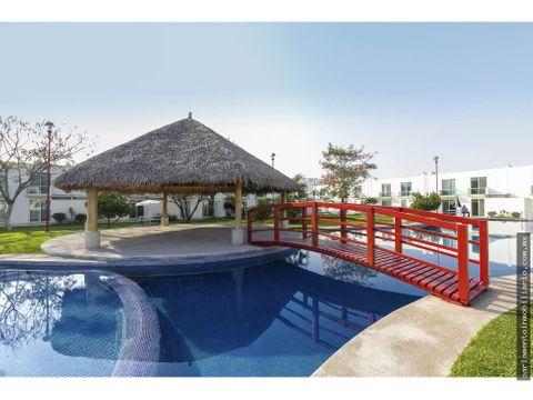 casas en venta con alberca y roof garden yautepec