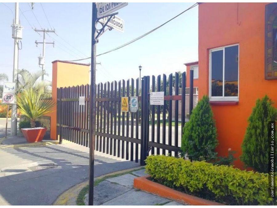casa en condominio en geo villas la hacienda temixco morelos