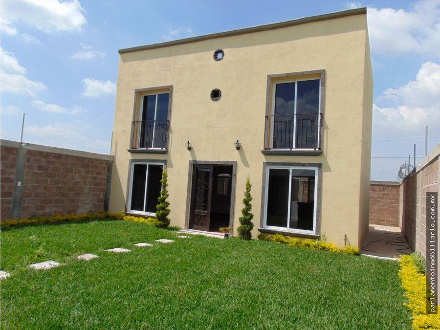 casa en venta yecapixtla morelos con roof garden