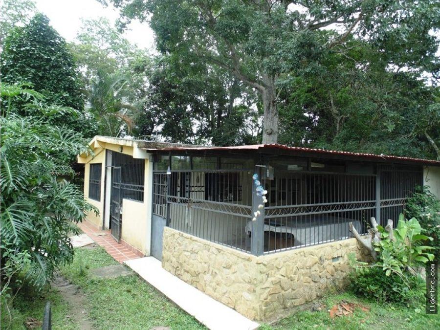 casa de campo en sabaneta norte montalban