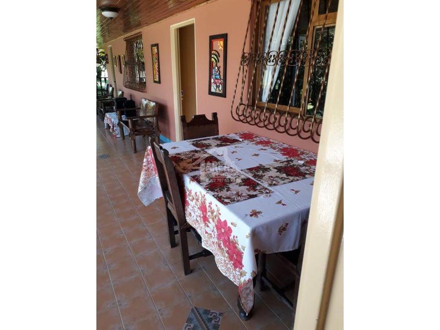 venta de finca hotel por montenegro