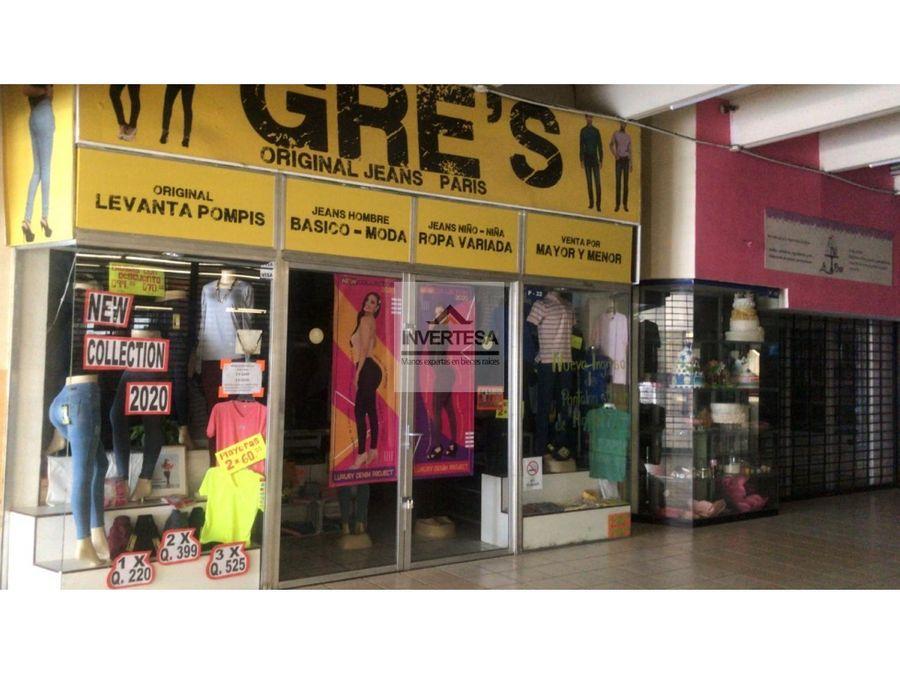 vendo local comercial en zona 11 cc galerias del sur
