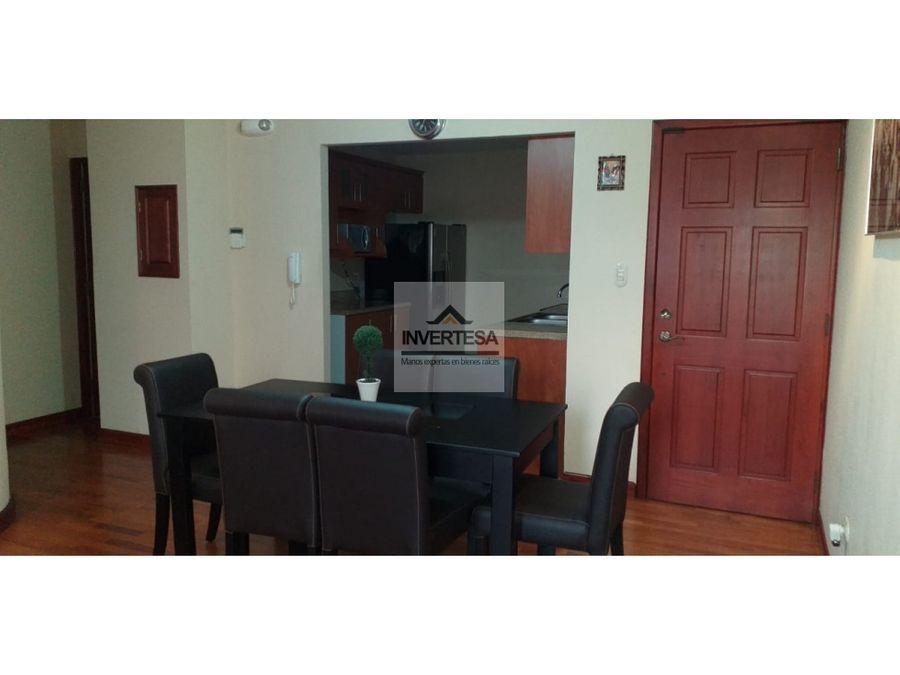 apartamento en renta zona 15 semi amueblado