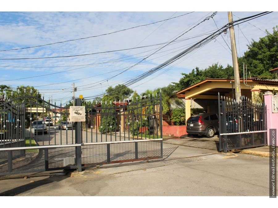 vendo casa en villa zaita residencial san remo