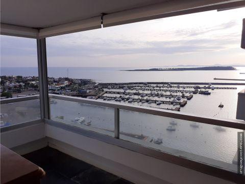apartamento vista al puerto y bahia punta del este