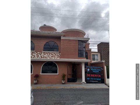 casa en renta real del valle pachuca