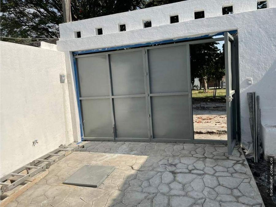 vendo casa nueva sola en civac jiutepec mor