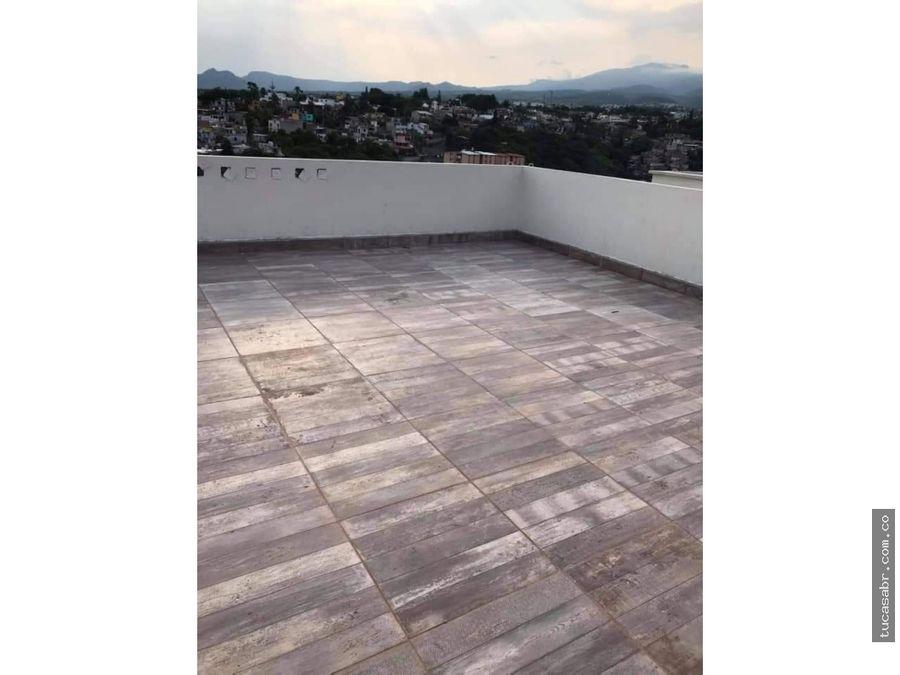 vendo departamento con roof garden en cuernavaca morelos
