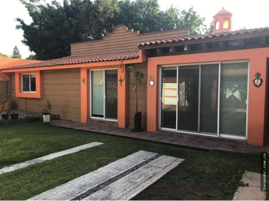 casa sola en venta en zona dorada en cuernavaca