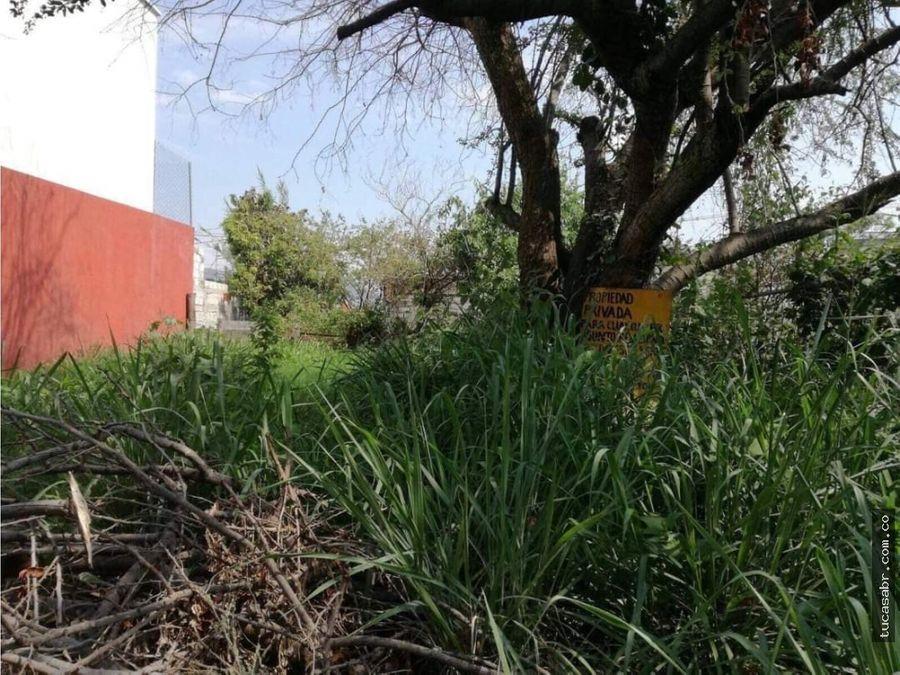 terreno en villas del descanso jiutepec