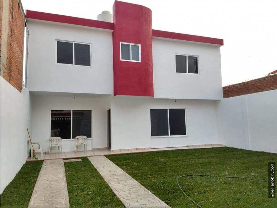 casa nueva en ampliacion bugambilias