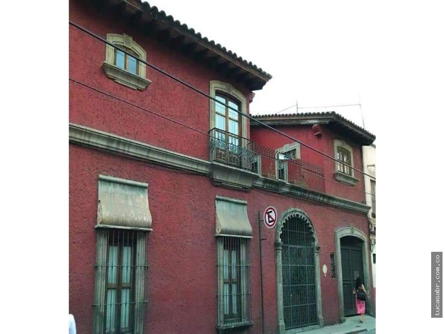 casa tipo hacienda en centro de cuernavaca mor