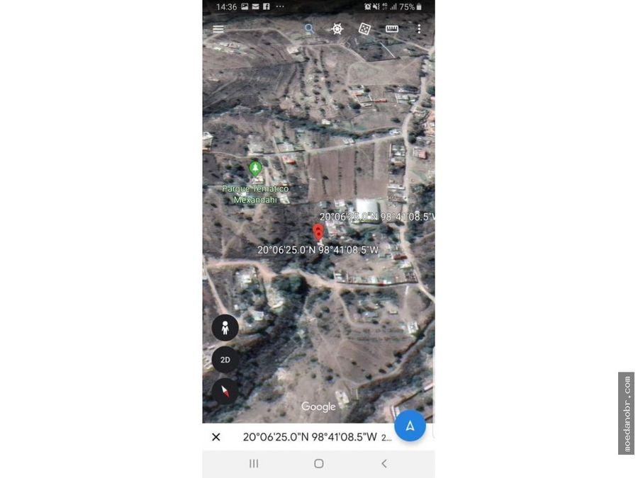 predio de 283 hectareas en pachuca