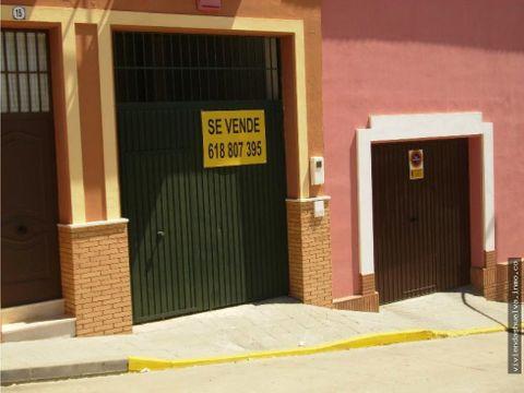 venta de garaje en bonares