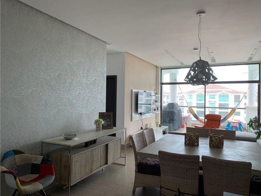 en costamare venta de apartamento amoblado
